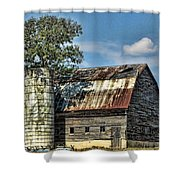 The Tree Silo Shower Curtain