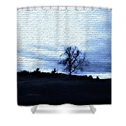 The Trees In Winter Shower Curtain