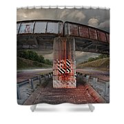 The Trestle With The Pestle Shower Curtain