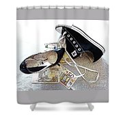 The Tribute. Shower Curtain