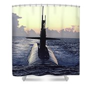 The Trident Nuclear Submarine, Ohio Shower Curtain