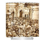 The Triumph And Vespasian De Titus 1500 Shower Curtain