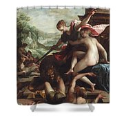 The Triumph Of Truth Shower Curtain