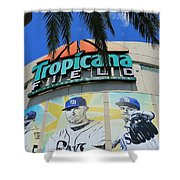 The Trop Shower Curtain