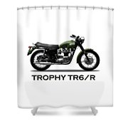 The Trophy Tr6r Shower Curtain
