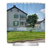 The Trostle House Shower Curtain