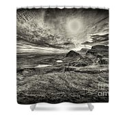 The Trotternish Ridge No. 3 Shower Curtain
