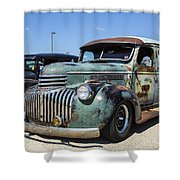 The Truck Shower Curtain