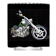 The True Love Of His Life Shower Curtain