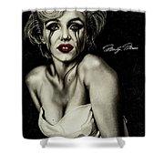 The True Marilyn Shower Curtain