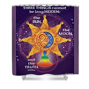 The Truth Shower Curtain
