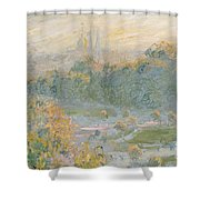 The Tuileries Shower Curtain