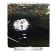 The Tunnel 2 Shower Curtain