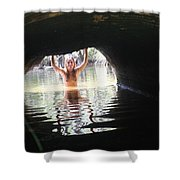 The Tunnel 6 Shower Curtain