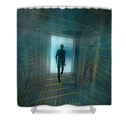 The Tunnel Shower Curtain