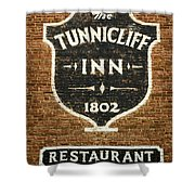 The Tunnicliff Inn - Cooperstown Shower Curtain