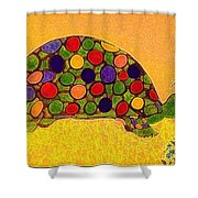 The Turtle In Lighter Colors Shower Curtain