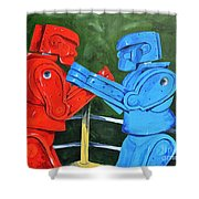 The Twelfth Round  Shower Curtain