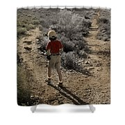 The Twelve Gifts Of Birth - Courage 1 Shower Curtain