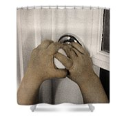 The Twelve Gifts Of Birth - Courage 2 Shower Curtain