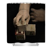 The Twelve Gifts Of Birth - Final Image Shower Curtain