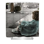 The Twelve Gifts Of Birth - Hope 1 Shower Curtain