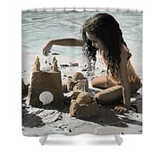 The Twelve Gifts Of Birth - Imagination 1 Shower Curtain