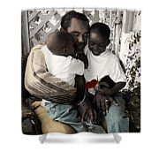 The Twelve Gifts Of Birth - Love 1 Shower Curtain