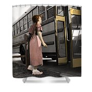 The Twelve Gifts Of Birth - Strength 1 Shower Curtain
