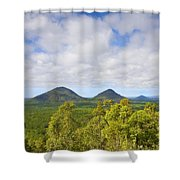 The Twins Shower Curtain