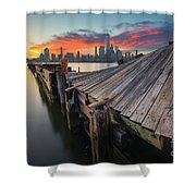 The Twisted Pier Shower Curtain
