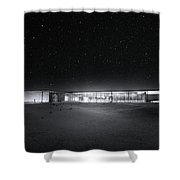 The Ufo Diner Shower Curtain