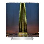 The Ultimate Sacrifice Liberty Memorial Kansas City Missouri Art Shower Curtain
