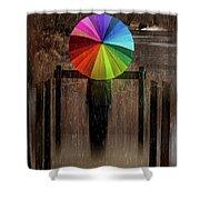 The Umbrella Shower Curtain