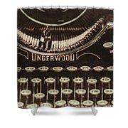 The Underwood Shower Curtain
