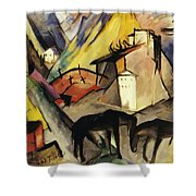 The Unfortunte Land Of Tyrol 1913 Shower Curtain