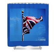The Flag Of Great Britain Shower Curtain