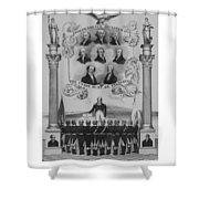 The Union Must Be Preserved Shower Curtain by War Is Hell Store
