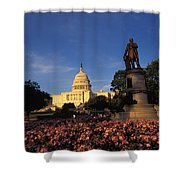 The United States Capitol, Washington Shower Curtain