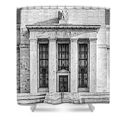The United States Federal Reserve Bw Shower Curtain