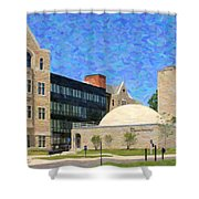 The University Of Toledo Shower Curtain