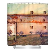 The Urban Trees Shower Curtain