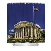 The Us Supreme Court Shower Curtain