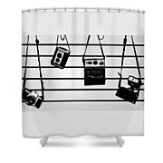 The Usual Suspects Shower Curtain