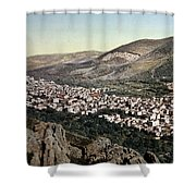 The Vale Of Nablus Shower Curtain