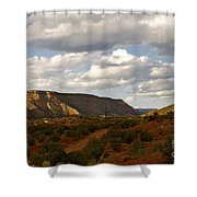 The Valley II Shower Curtain
