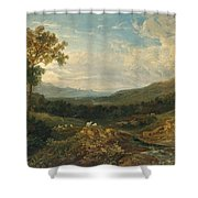 The Valley Of The Clyde Shower Curtain