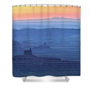 The Valley Of The Gods Shower Curtain