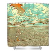 The Valley Of Winding Snake River Shower Curtain