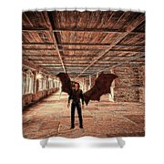 The Vampire Abode Shower Curtain